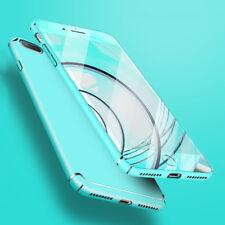 For Apple iPhone X 6 6S 7 8 Plus Shockproof Slim Matte Rigid Plastic Case Cover