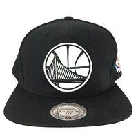 Golden State Warriors Cap Mitchell and Ness Snapback NBA Basketball Baseball Hat