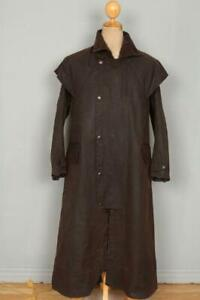 BARBOUR Stockman WAXED Coat Brown Size Small