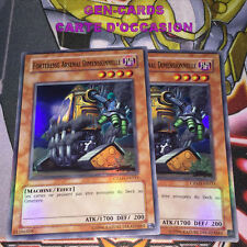OCCASION Carte Yu Gi Oh FORTERESSE ARSENAL DIMENSIONNELLE CRMS-FR033 x 2