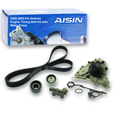 AISIN Timing Belt Kit w/ Water Pump for 2002-2005 Kia Sedona 3.5L V6 - re