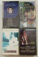 Linda Ronstadt Cassette Tape Bundle (SEE DESCRIPTION FOR TITLES)