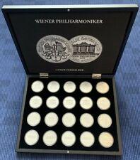 """Österreich - 20 Stück Wiener Philharmoniker """"2011"""" Sonderedition in Münzkassette"""