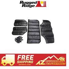 Rugged Ridge Hard Top Insulation Kit 07-10 Jeep Wrangler JKU 4 DR 12109.02 Black
