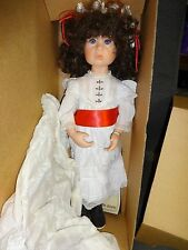 "Julie Good Kruger VICTORIAN CHRISTMAS Vinyl Doll 20"" Original Box #940 MIB"