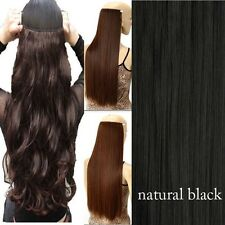 100% Real as Remy Human Hair Clip in Half Full Head Hair Extensions Extentions
