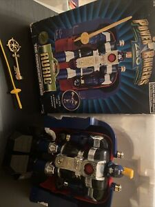 Deluxe Auric The Conqueror Zord Vintage Power Rangers Zeo Complete 1996 Bandai