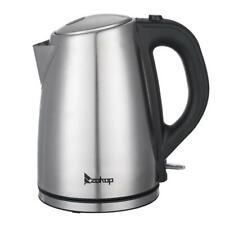 ZOKOP Edelstahl Wasserkocher BPA-FREI 1,8 Liter Teekocher Überhitzungsschutz