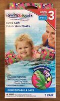 Kids Swimming Extra Soft Fabric Arm Floats Floaties Swim Pool Level 3 (30-50lbs)