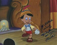 Dickie Jones Signed The Voice Of Disney'S Pinocchio 8x10 Photo W/Proof!