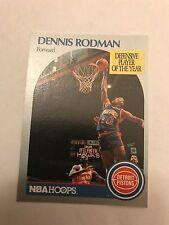 1990 NBA Hoops Dennis Rodman Detroit Pistons 109