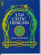 159 Celtic Designs Decorative Letters Borders Arts DIY Crafts Out Of Print Rare!