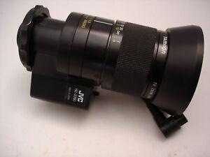 Vintage Tamron tv zoom lens w/JVC HZ-2060- 11-70mm, f/1.6