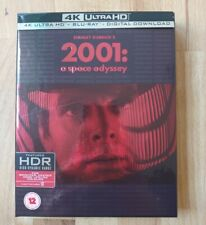 2001: A Space Odyssey 4K UHD + Blu-Ray UK Special Limited Editon 3 Disc Set