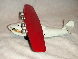 """1950's  Restored Condition PAA China Clipper Airplane Toy  Prestored Steel 13"""""""