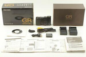 [Mint Zahlen 780] Ricoh Gr Digital III 10.0MP Kamera Schwarz Aus Japan 1224A