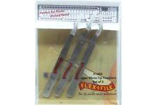 FLEX-I-FILE FF1200 Précelles - Stainless Steel Tweezers 3pcs