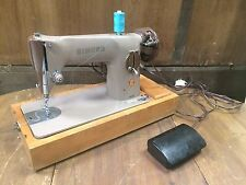 Singer 201k Handcrank Semi Industrial Heavy Duty Sewing Machine Leather Powerful