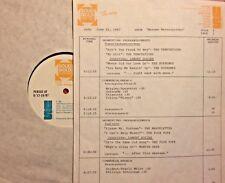 RADIO SHOW: 6/16/87 MOTOWN MASTERPIECES: SUPREMES, 4 TOPS, JACKSON 5, SMOKEY