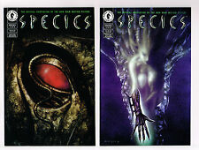 SPECIES #1,2,3 (of 4) DARK HORSE COMICS 1995 NM+ UNREAD SCI-FI  MOVIE MONSTERS