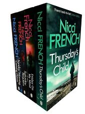 Nicci french Frieda klein novel series 4 books collection Thursday's Child NEW