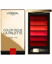Palette Color Riche Red Rouge à Lèvres L'Oréal Paris 6 couleurs