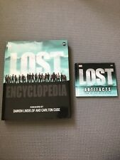 LOST ENCYCLOPEDIA signed autograph by Tara Bennett with mini artifact book