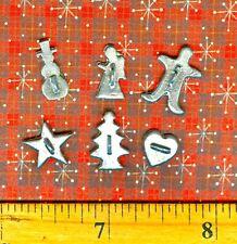 Dollhouse Miniature Size 6 Fun Cookie Cutters