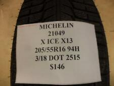 2 MICHELIN X-ICE XI3 205 55 16 94H BRAND NEW PAIR OF TIRES 21049 Q8