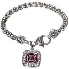 SOUTH CAROLINA GAMECOCKS  bracelet SQUARE logo  nwt