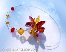 m/w Swarovski Rare Ab Solar Flare Hot Sun Colors Sun Catcher Lilli Heart Designs