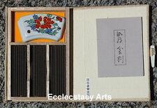 Nippon Kodo Kyara Kongo Diamond Incense 80 Sticks-Burner Gift Set Aloeswood