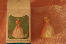 Hallmark Birthday Wishes Barbie Keepsake Ornament 2001