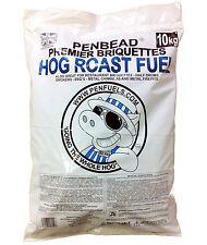 Hog Roast Machine Charcoal Briquettes 10kg @ £17 Delivered
