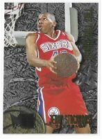 1995-96 Fleer Metal Jerry Stackhouse Silver Rookie Roll Call SP No. R-8