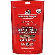 Stella & Chewy's Freeze Dried Remarkable Red Meat Dinner Patties 14oz