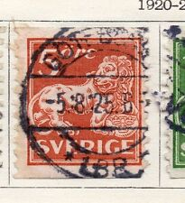 Sweden 1920-25 Early Issue Fine Used 5ore.  118388