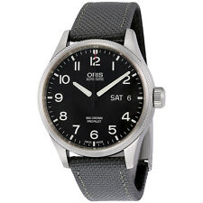 New Oris Big Crown Pro Pilot Black Dial Mens Watch 75276984164FS