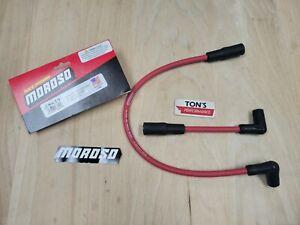 Moroso 28629 Harley Davidson Softail FLST FXST 2000-2013 Red Ultra 40 Race Wires