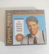 Anthony Robbins Personal Power II Volume 10 The Final Breakthrough brand New CD