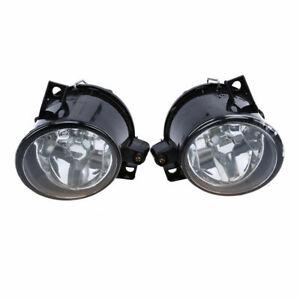 Pair H3 Front Fog Light Lamp Bulb Amber For Seat Altea before Facelift 2004-2009
