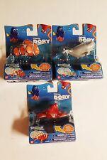 Finding Dory Disney Pixar Swigglefish *3 PACK*  HANK MARLIN BAILEY NEW FAST SHIP