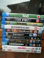 BUNDLE OF BLUE RAY FILMS (JOB LOT)