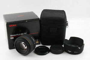 [Mint in Box] Sigma 30mm F/1.4 EX DC HSM Autofocus Lens for Nikon Digital SLR