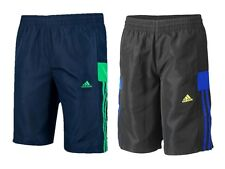 Adidas Niños Negro o Azul Marino Entrenamiento Bóxer Deporte Bermudas 7-15Y