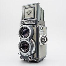 Rolleiflex Baby Grey 4x4 TLR - Xenar 60mm f/3.5 - Serviced - 100% - Superb