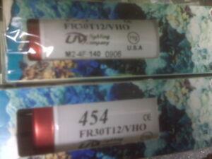"""URI/UVl 36"""" VHO 2-75 Watt 454 T12 Bulbs For Fresh or Salt Water New!"""