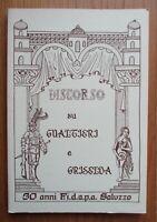 1991 Discorso su Gualtieri e Griselda Fidapa Saluzzo Decameron Boccaccio novella
