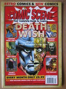 Comic Scene September 2019 Volume 2 Issue 6 Death Wish Grimly Feendish Tripwire