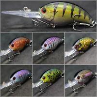 wLure 1 1//2 inch 1//6 oz Tiny Lipless Lifelike Pattern Sinking Fishing Lure HL666